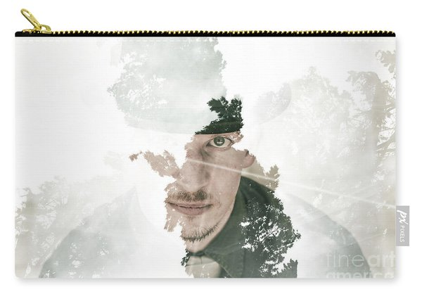 The Looking Glass Forest Man Carry-all Pouch