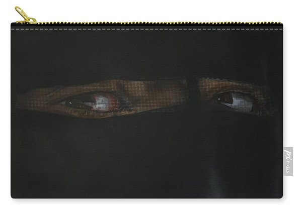 The Lovely Bride Hyphemas Portrait Carry-all Pouch