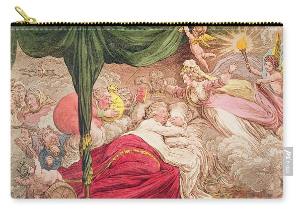 The Lovers Dream Carry-all Pouch