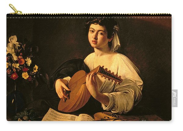 The Lute Player Carry-all Pouch