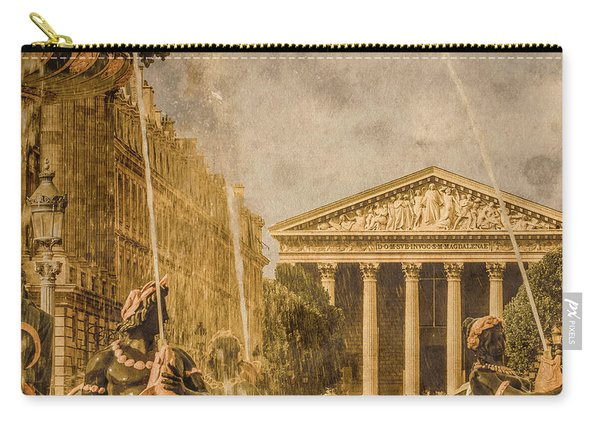 Paris, France - The Madeleine Carry-all Pouch