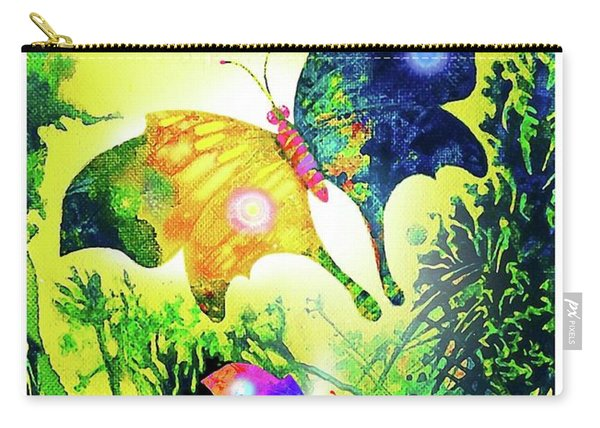 The Magic Of Butterflies Carry-all Pouch