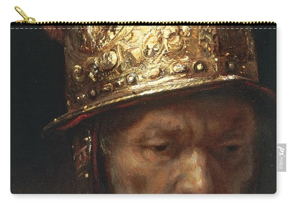 The Man With The Golden Helmet Carry-all Pouch
