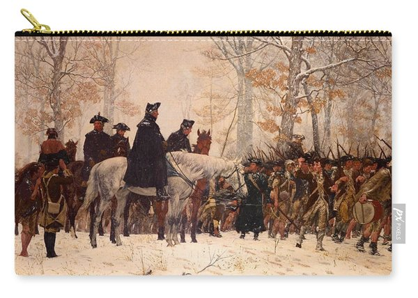 The March To Valley Forge Carry-all Pouch
