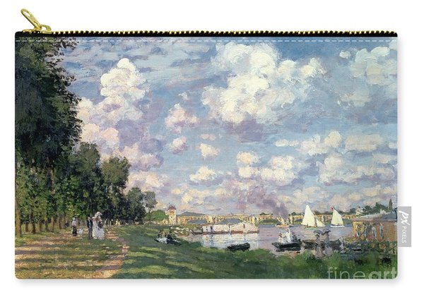 The Marina At Argenteuil Carry-all Pouch