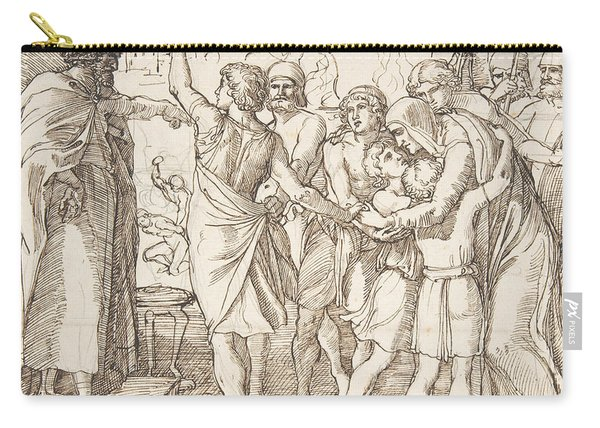 The Martyrdom Of The Seven Brothers Carry-all Pouch