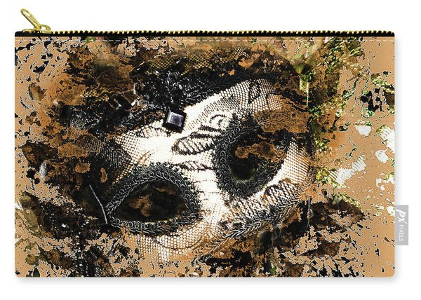 The Mask Of Fiction Carry-all Pouch