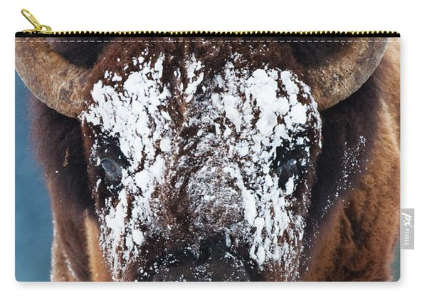 The Masked Bison Carry-all Pouch