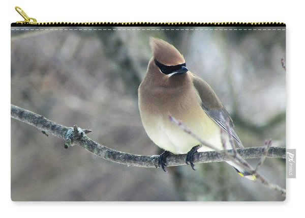 The Masked Cedar Waxwing Carry-all Pouch