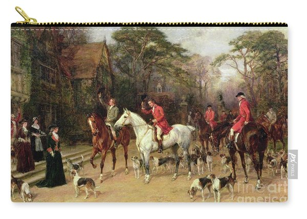The Meet At The Manor House Carry-all Pouch
