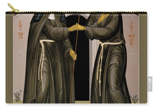 The Meeting Of Sts. Francis And Clare - Rlfac Carry-all Pouch