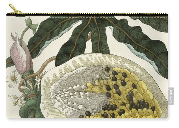 The Melon Or Papaya Tree Carry-all Pouch