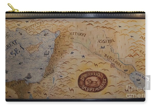 Carry-all Pouch featuring the photograph The Middle East by Mae Wertz