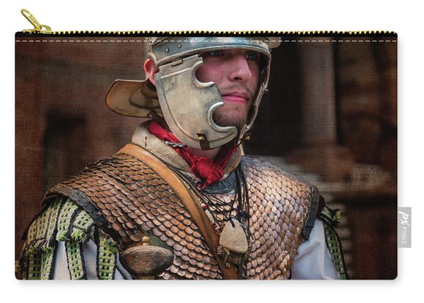 Roman Duty At World 's End Carry-all Pouch