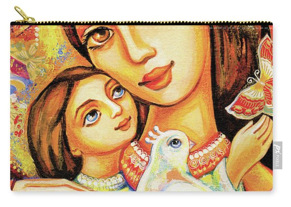 The Miracle Of Love Carry-all Pouch