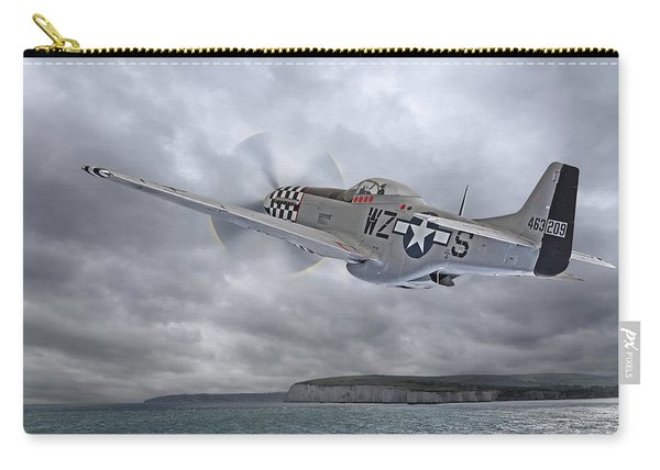 The Mission - P51 Over Dover Carry-all Pouch