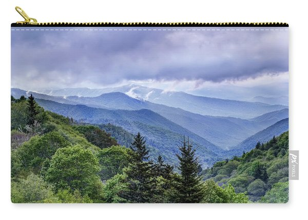 The Mountains Of Great Smoky Mountains National Park Carry-all Pouch