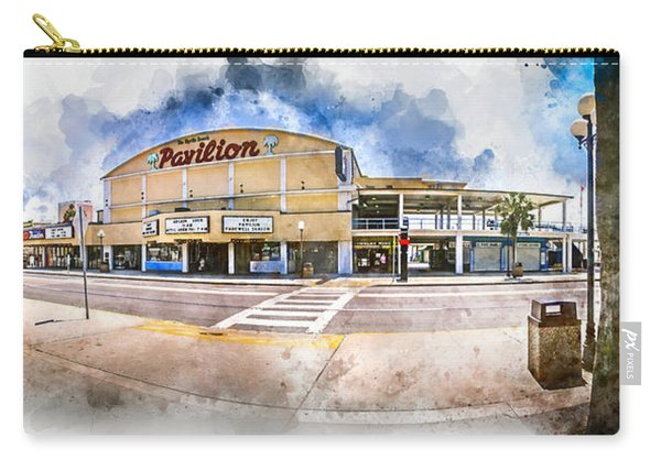 The Myrtle Beach Pavilion - Watercolor Carry-all Pouch