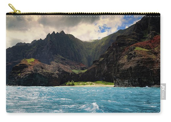 The Napali Coast Carry-all Pouch