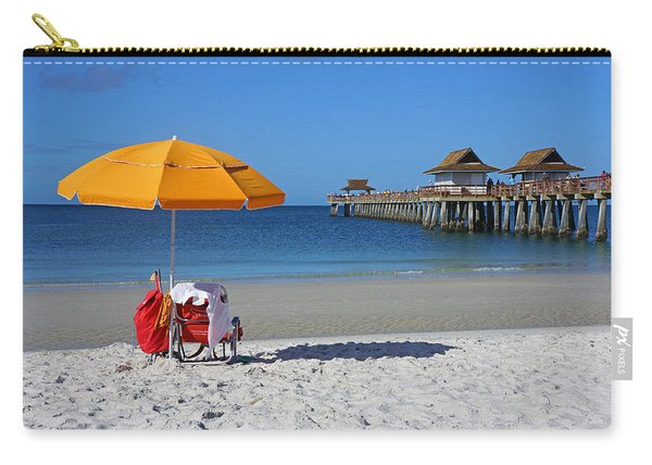 The Naples Pier Carry-all Pouch
