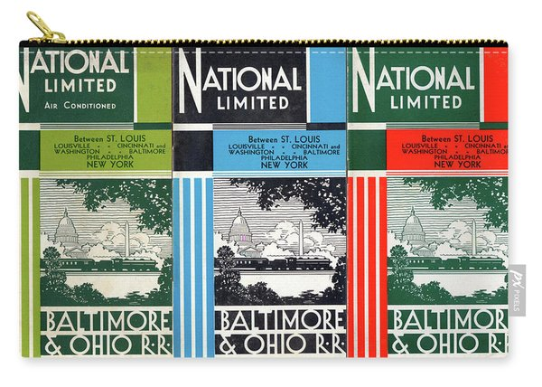The National Limited Collage Carry-all Pouch