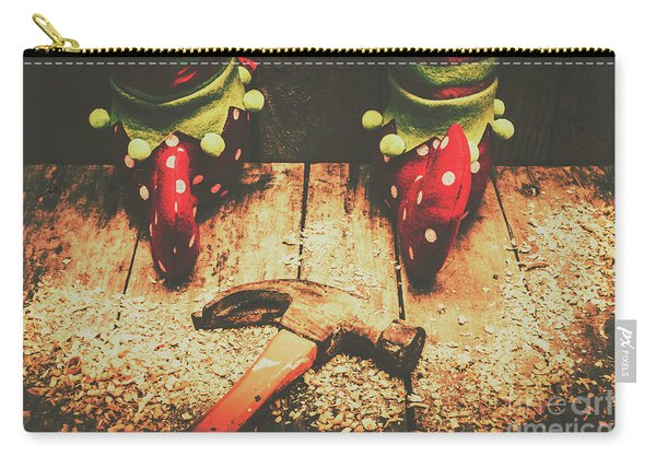 The North Pole Toy Factory Carry-all Pouch