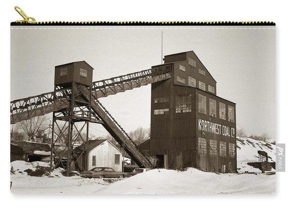 The Northwest Coal Company Breaker Eynon Pennsylvania 1971 Carry-all Pouch