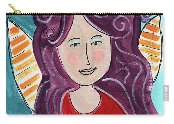 The Not Today Fairy- Art By Linda Woods Carry-all Pouch
