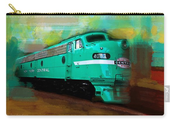 Flash II  The Ny Central 4083  Train  Carry-all Pouch