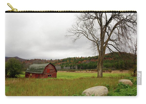 The Old Barn With Tree Carry-all Pouch