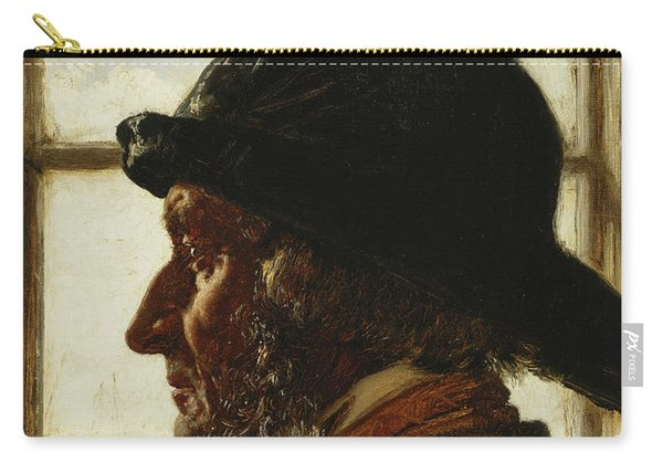 The Old Fisherman, 1873  Carry-all Pouch