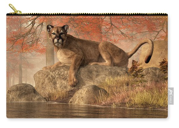 The Old Mountain Lion Carry-all Pouch