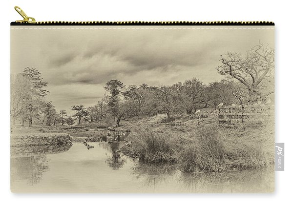 Carry-all Pouch featuring the photograph The Old Pond by Nick Bywater