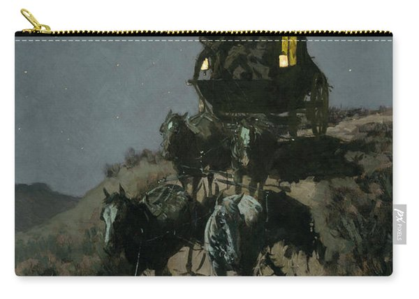 The Old Stage-coach Of The Plains Carry-all Pouch