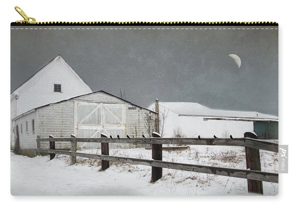 The Old White Barn Carry-all Pouch
