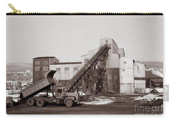 The Olyphant Pennsylvania Coal Breaker 1971 Carry-all Pouch