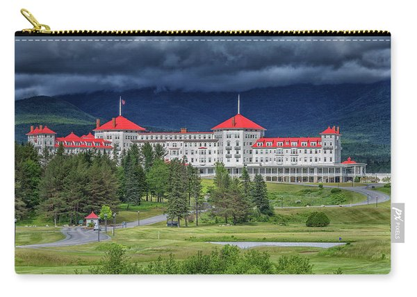 The Omni Mount Washington Resort 3 Carry-all Pouch