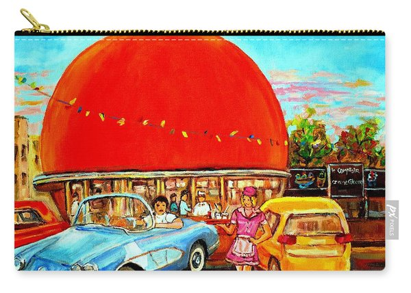 The Orange Julep Montreal Carry-all Pouch