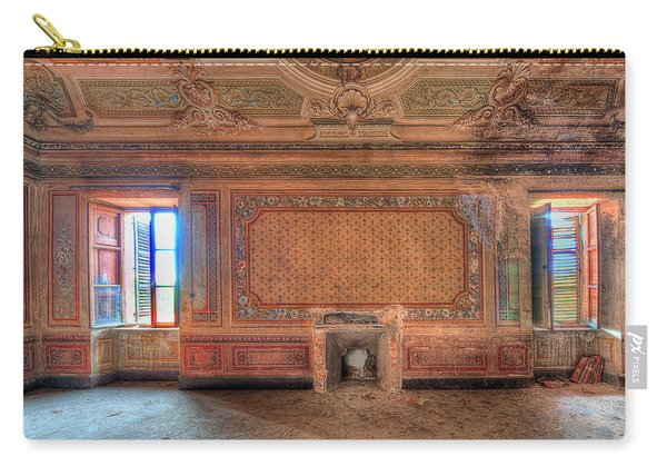 The Orange Room Of The Villa With The Colored Rooms Carry-all Pouch