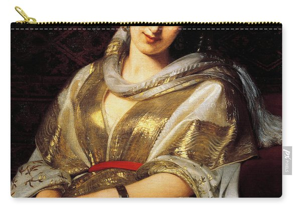 The Oriental Woman Carry-all Pouch