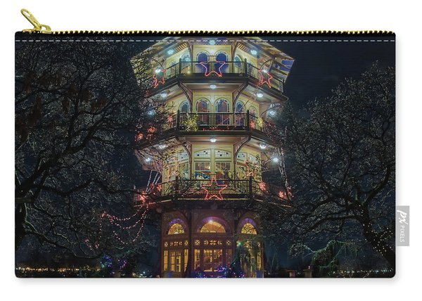 The Pagoda At Christmas Carry-all Pouch