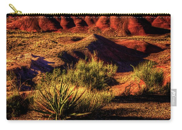 The Painted Desert From Kachina Point Carry-all Pouch
