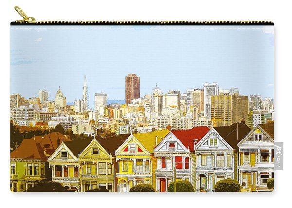 The Painted Ladies In San Francisco California Carry-all Pouch