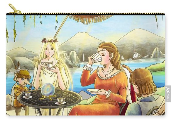 The Palace Garden Tea Party II Carry-all Pouch