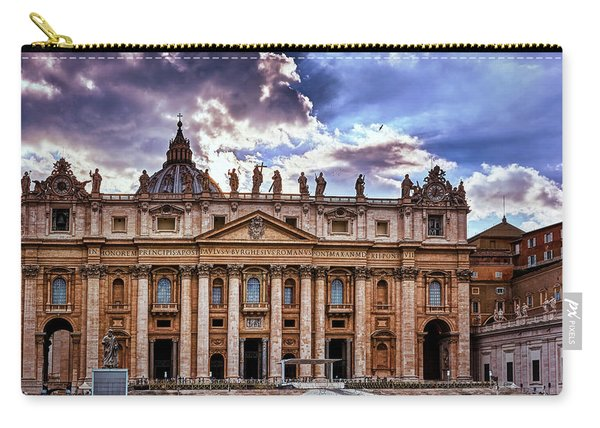 The Papal Basilica Of Saint Peter Carry-all Pouch