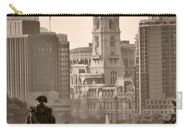 The Parkway In Sepia Carry-all Pouch