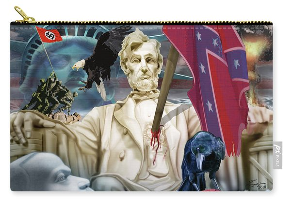 The Party Of Lincoln Days At An End Carry-all Pouch