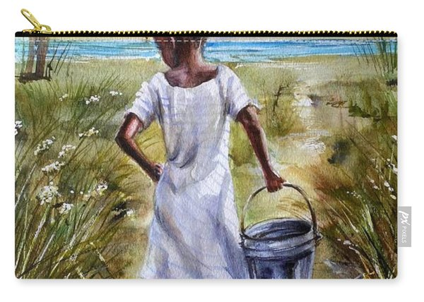 The Path To The Sea Carry-all Pouch