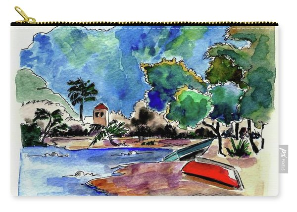 The Peloponnese Carry-all Pouch
