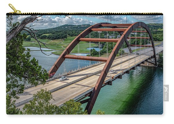 The Pennybacker Bridge Carry-all Pouch